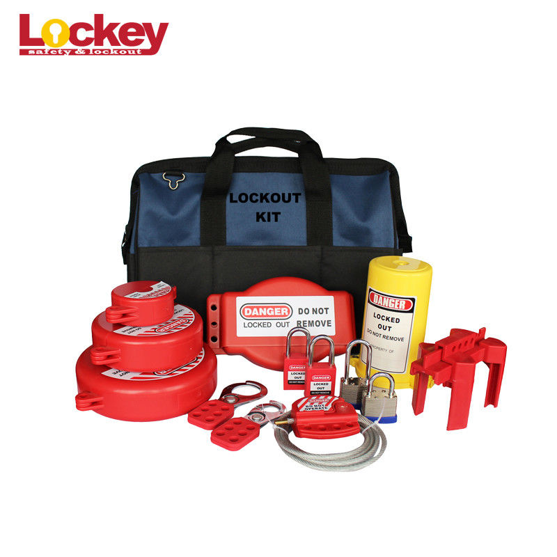 Portable Maintenance Lockout Kit Industrial Lock Out Tag Out Kits For Electrical