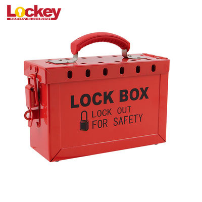Master Lock Group Loto Box Cabinet Stainless Steel Nylon Handle For 13 Padlocks