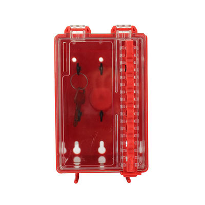 China OEM Design Group Loto Box Combination Wall Mounted Group Lockout Box Tagout factory
