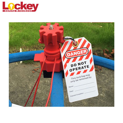 Industrial Loto Safety PVC Do Not Operate Padlock Lockout Tag